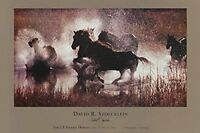 WESTERN ART PRINT - The LX Saddle Horses by David Stoecklein Cowboy Poster 24x36