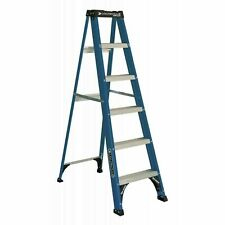 Ladder 6-Foot Fiberglass Step Ladder, 225-Pound Capacity, Type II Brandnew