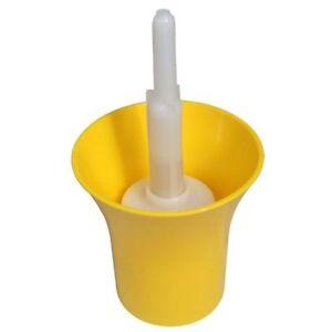 Yellow Eco Bottle Rinser Sterilise Bottles Free Delivery UK