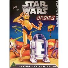 Star Wars Animated Adventures Droids Complete Series 2 DVD Set Free USA Shipping