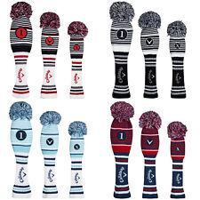 2020 Callaway PomPom Headcovers - Golf Club Cover Replacement Acrylic Yarn Retro