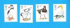 GREAT BRITAIN - Scott 1239-1242 - VFMNH - Birds - Puffin -- 1989