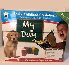 New! Carson-Dellosa Early Childhood Solutions My Day pre-K