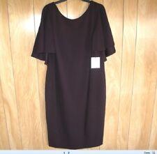NEW Calvin Klein Casual Dress Burgundy  Size:18W   $139.00