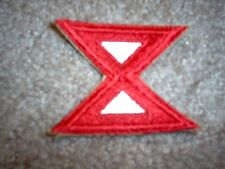 WWII US Army Tenth Army patch cut edge