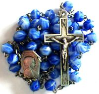 ⭐ VINTAGE ART DECO ROSARIES ✞ ROSARY FRENCH CRUCIFIX ☧ CROSS LOURDES PILGRIMAG