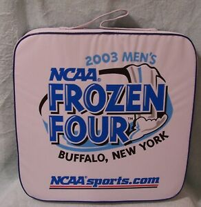 2003 MEN'S NCAA FROZEN FOUR BUFFALO, NEW YORK SEAT CUSHION