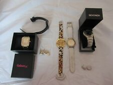 Bundle Of 5 Mens Womens Accessorize Casio Coleen X LYDC Sekonda Watches Used