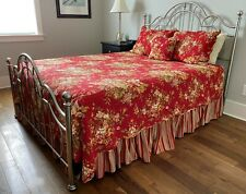 Waverly Rose Garden Floral Queen Bedding Set