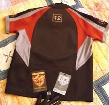 Hunger Games Lot; Large District 12 Training Shirt, Pewter Mockingjay Ring, NECA