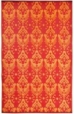 Green Decore Reversible Outdoor Ikat Rug