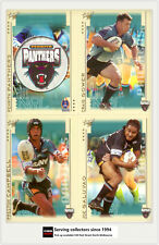 2003 Select NRL XL Series Trading Card Base Team Set Panthers (12)