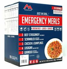 Mountain House Emergency Food Meal Kit, Freeze Dried, 30 Year Life, 28 Servings