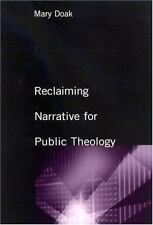 Reclaiming Narrative for Public Theology (Suny Series, Religion and American Pub