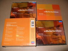 Wilhelm Backhaus Beethoven: Piano Sonatas Nos. 1-32 - Edit 1-8 cd Box Set Ex +