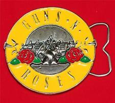 GUNS N ROSES 1980s Hard Rock Heavy Metal Band GNR LOGO Unisex BELT BUCKLE New