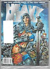 Heavy Metal Vol 25 #1 March 2001 Mills Ledroit Bisley Factory Sealed 1977 Series