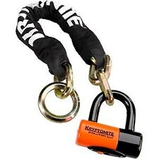 Kryptonite New York Noose (12 mm / 130 cm) - with EV series 4 disc lock blk/yell