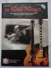 Mel Bay A Tribute to Guitar Masters Volume 1 by Michele Ramo Softcover W/ CD
