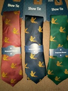 Shires Show Tie Horse Riding Show Competition Tie ALL COLOURS ONE SIZE