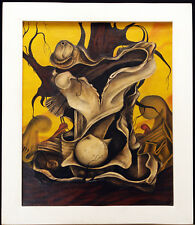 Ölgemälde (1990) Anton NEKRASOV (Некрасов Антон, *1963 UDSSR), handsigniert