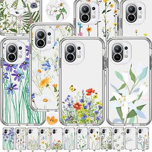 Flower TPU Anti-shock Case Cover For Xiaomi Mi 10 Ultra 11 Lite CC9 Pro CC9e 10T