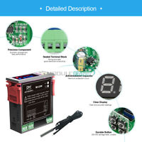 AC 110-220V MH1220W Temperature Controller Dual Display Thermostat Probe Sensor