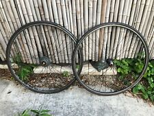 Chris King R45 Ambrosio Nemesis Road Bike Racing Wheels Wheelset Front Rear