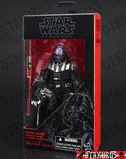 Darth vader emperor's wrath star wars black series figurine Hasbro Takara