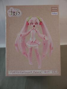 Furyu  Vocaloid  Sakura Miku CartoonY PVC Statue 16 cm F30