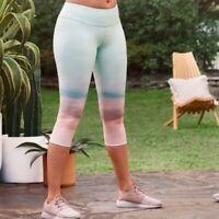 CALIA Carrie Underwood Women's Mid Rise Capri Legging Essential Collection Sz M