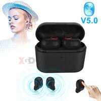 TWS Mini Bluetooth Écouteurs à Annulation De Bruit Pour Casque Stéréo Sans Fil