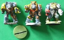 Games workshop Space Wolves Wolf Guard Terminators x 3
