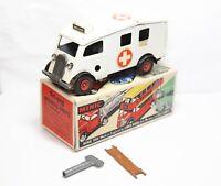Triang Minic 75m Ambulance In Its Original Box - Vintage Original Model