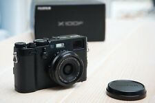Fujifilm X100f Professional Digital Compact Camera - Black