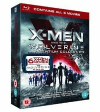 X-Men And The Wolverine Adamantium Collection [Blu-ray] [2013] [DVD][Region 2]