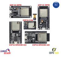 ESP32 ESP32-WROOM-32U ESP32-WROOM-32D WiFi Bluetooth ESP-32 2.4GHZ NODEMCU komp.