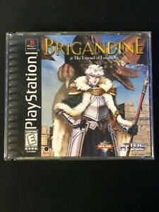 Brigandine: The Legend of Forsena (Sony PlayStation 1, 1999) Good