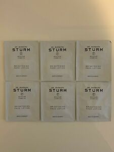 Dr. Barbara Sturm Brightening Face Lotion Samples Lot Of 6