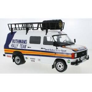 Ford Transit MK II Rothmans with roof accessories 1/18 - 18RMC057XE IXO