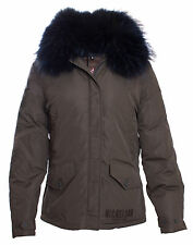 Nickelson - Damen Winterjacke mit Pelz GIANT - Army Green  XS