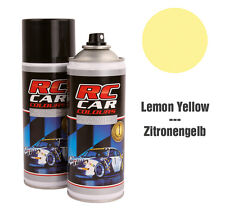 rcc020 Bomboletta vernice spray per lexan carrozzeria colore giallo yellow 150ml