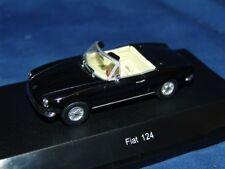 1 FIAT 124 SPIDER BLACK 1:43 STARLINE