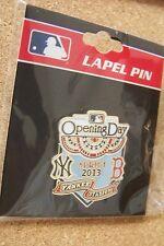 2013 NY New York Yankees vs Boston Red Sox Opening Day Yankee Stadium pin