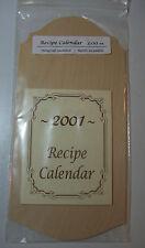 """sm wood calendar holder unfinished 11 1/4""""x5 1/4""""x1/4"""""""