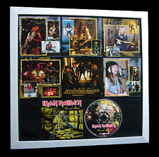 IRON MAIDEN+Piece Of Mind+LTD+GALLERY QUALITY FRAMED+FAST GLOBAL SHIP+Not Signed