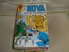 NOVA n° 86 de 1985 - SPIDER MAN - LES FANTASTIQUES - LA TORCHE - comme neuf.