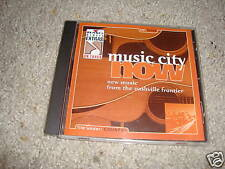 Music City Now CD new music from the Nashville Frontier