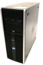 HP Compaq 8000 Elite CMT Mini Tower | 3.00GHz Core 2 Duo | 2gb | CD-DVD MULTI