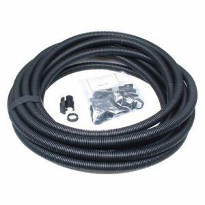 Univolt 20mm Black Flexible Flexi Conduit Contractor Pack 10m  + 10 Glands